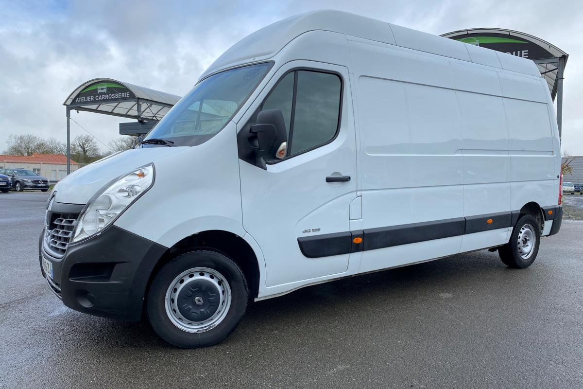 RENAULT MASTER FOURGON FGN L3H3 3.5t 2.3 dCi 125 CONFORT